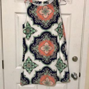 NWOT DressT Boho Paisley Print Dress